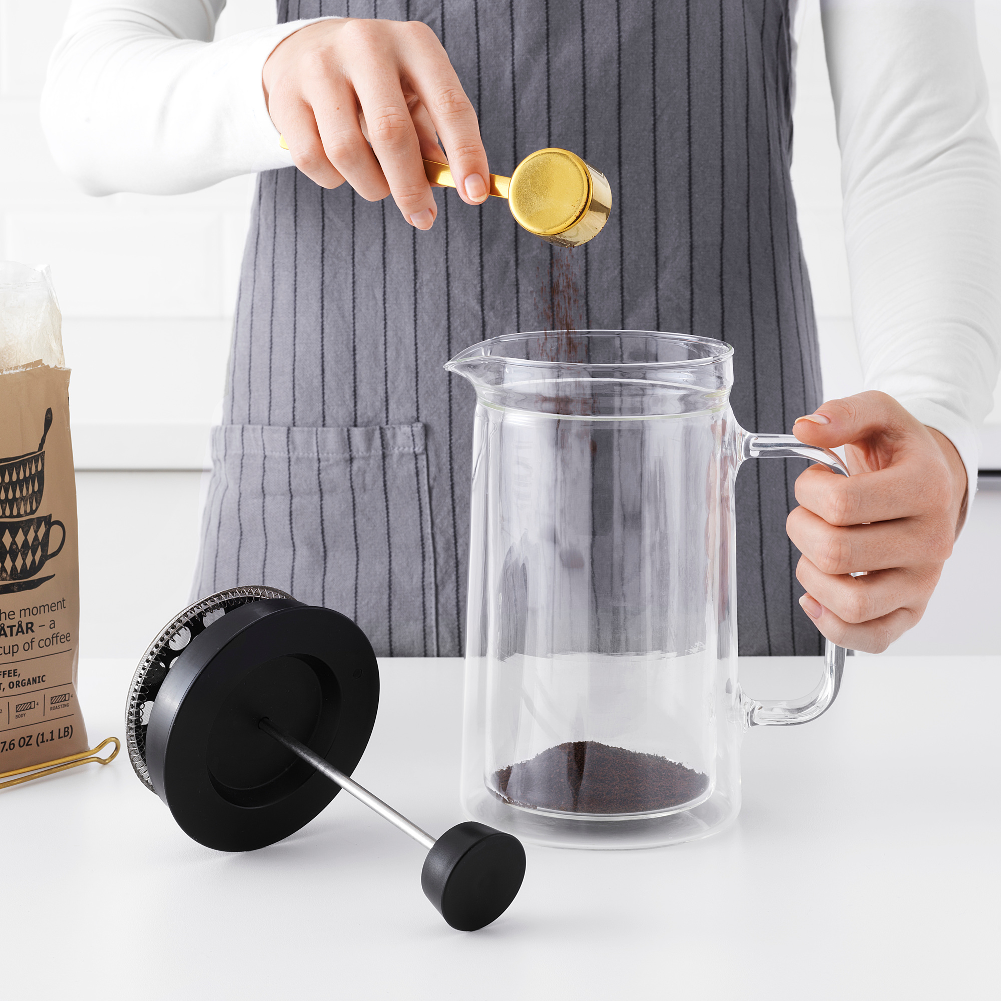 EGENTLIG кофе-пресс/заварочный чайник