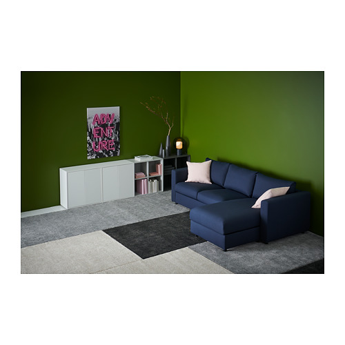 STOENSE rug, low pile