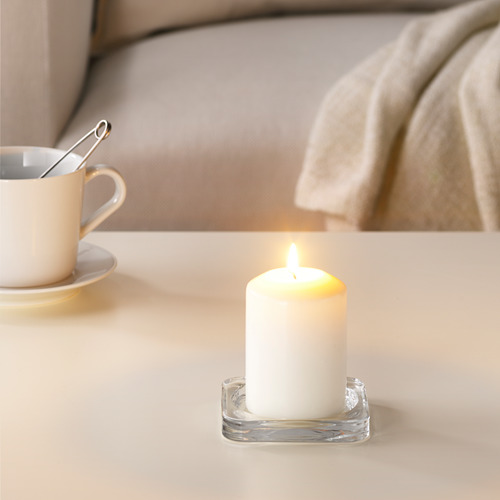 LÄTTNAD unscented block candle