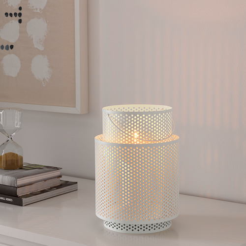 BEHÄRSKA lantern for block candle