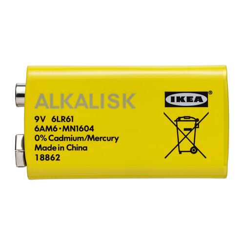 ALKALISK battery alkaline