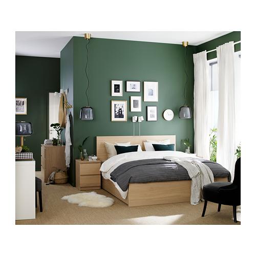 MALM каркас кровати+2 кроватных ящика