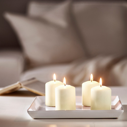HEMSJÖ unscented block candle