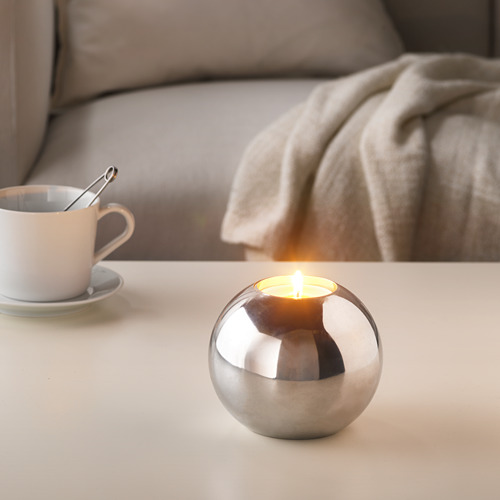 SINNLIG scented candle in metal cup