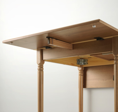 INGATORP drop-leaf table