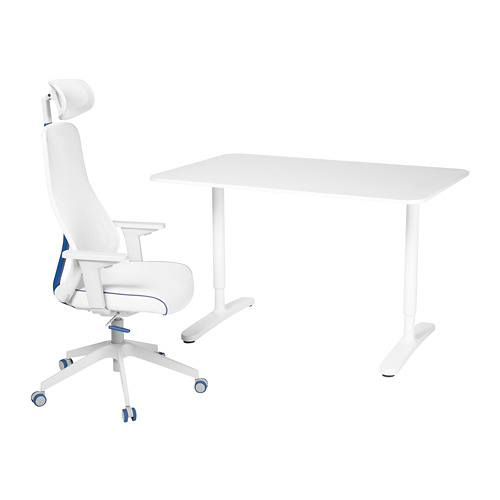 BEKANT/MATCHSPEL rašomasis stalas ir kėdė