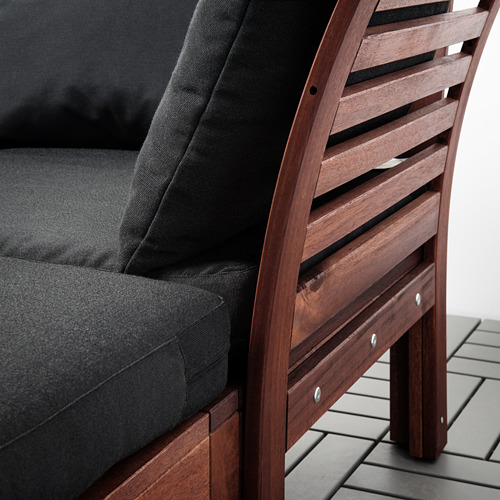 ÄPPLARÖ 2-местный модульный диван, садовый