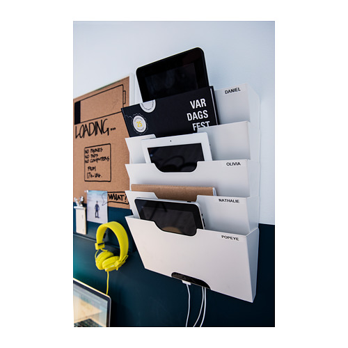 KVISSLE wall newspaper rack