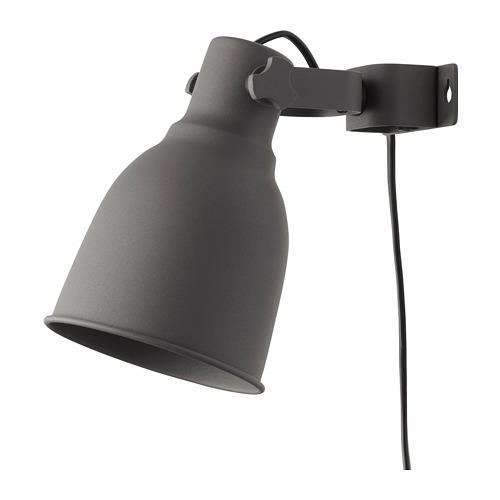HEKTAR настенный софит/лампа с зажимом