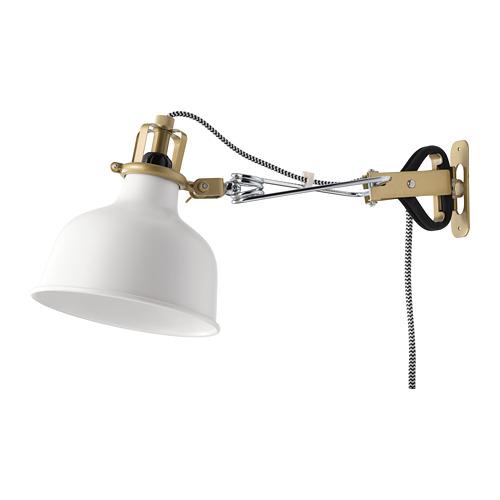 RANARP sieninis-prisegamasis šviestuvas