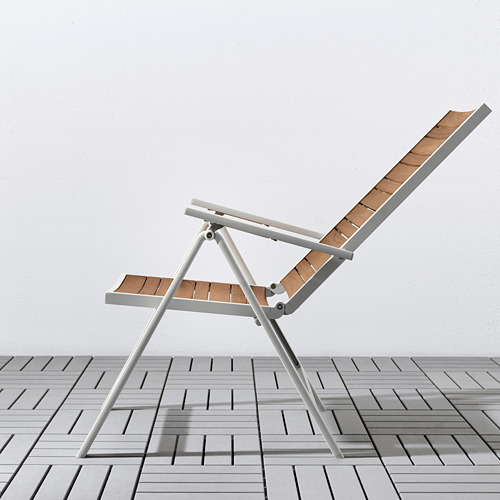 SJÄLLAND galds+4 regul. krēsli, āra