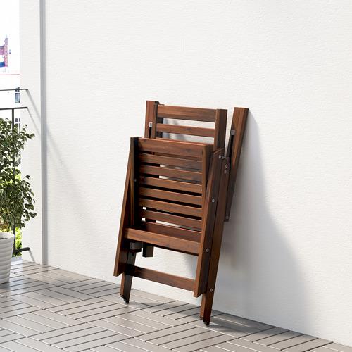 ÄPPLARÖ садовое кресло/регулируемая спинка