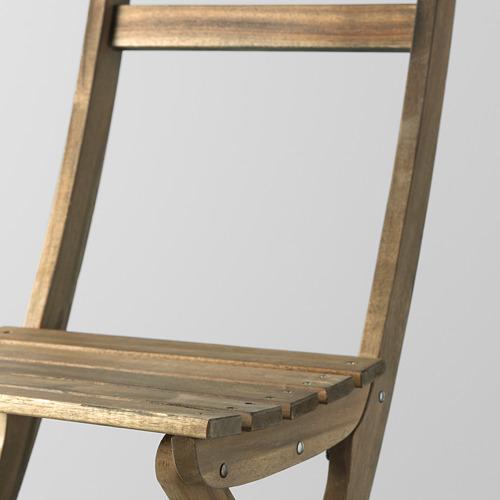 ASKHOLMEN lauko sieninis stalas+2 sul. kėdės
