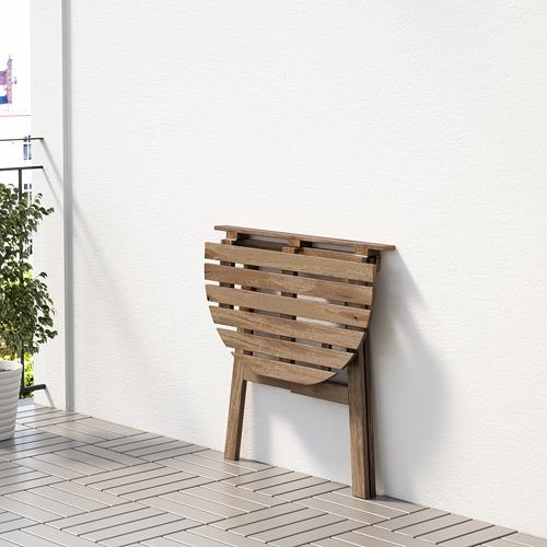 ASKHOLMEN table for wall, outdoor