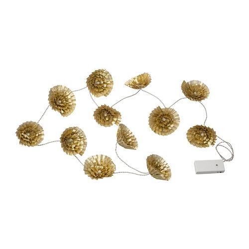 KARISMATISK LED lighting chain with 12 lights