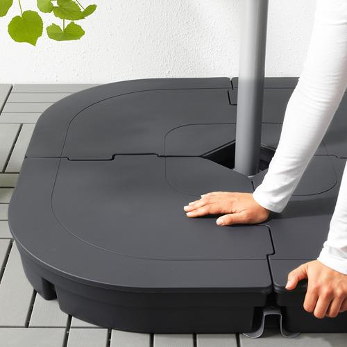 OXNÖ/LINDÖJA päikesevari, rippuv koos alusega