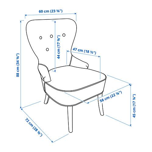 REMSTA armchair