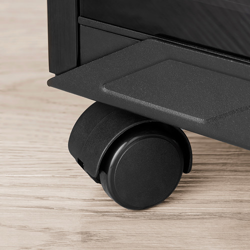 UPPSPEL PC stand with castors