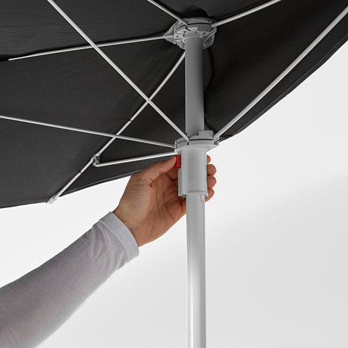 FLISÖ/BRAMSÖN parasol with base
