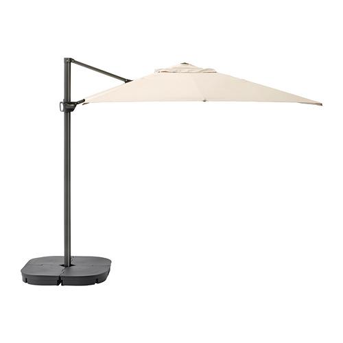 SVARTÖ/SEGLARÖ kabamasis lauko skėtis su pagrindu