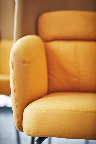 BINGSTA fotelis su aukšta atkalte