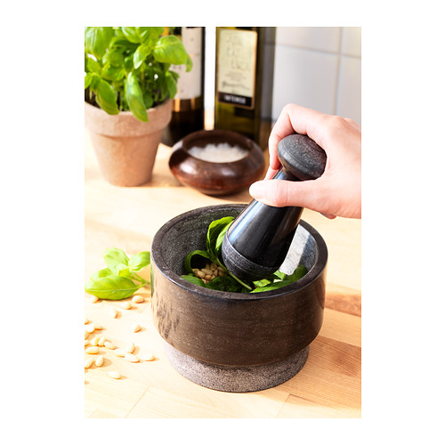 ÄDELSTEN pestle and mortar