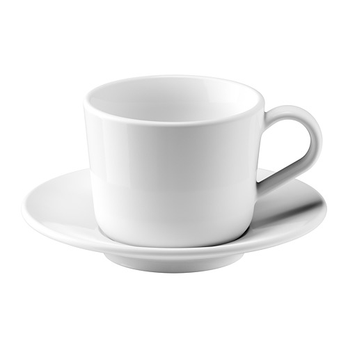 IKEA 365+ cup with saucer
