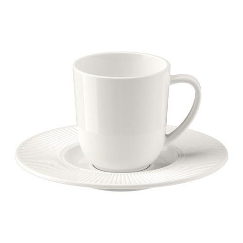 OFANTLIGT чашка для кофе эспрессо с блюдцем