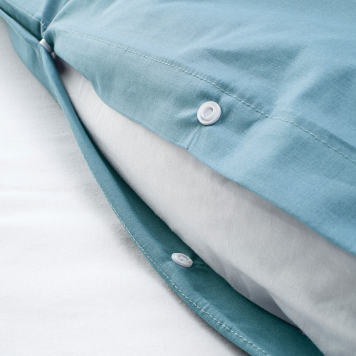 BRUNKRISSLA quilt cover and pillowcase