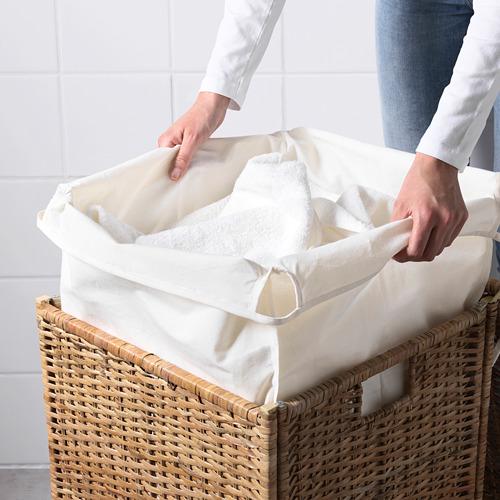BRANÄS корзина для белья с подкладкой