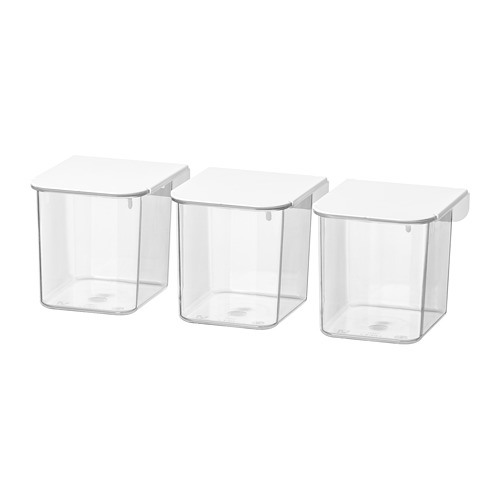 SKÅDIS container with lid