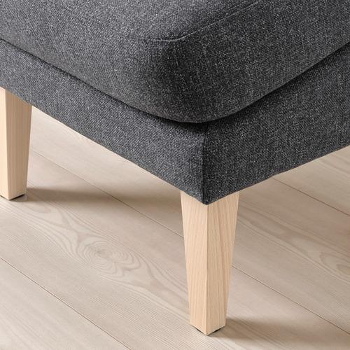 OMTÄNKSAM footstool, slanted