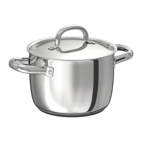 OUMBÄRLIG pot with lid