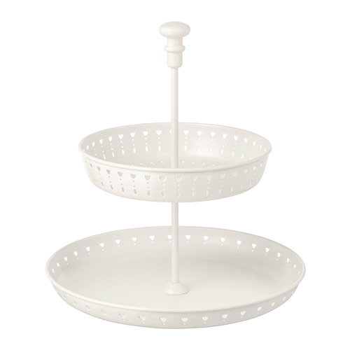 GARNERA serving stand, two tiers