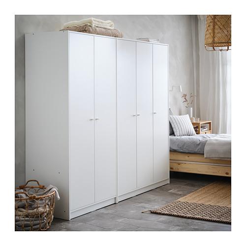 KLEPPSTAD гардероб 3-дверный