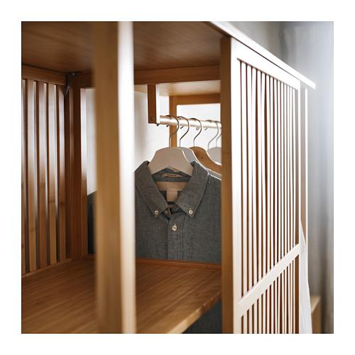 NORDKISA открытый гардероб/раздвижная дверь