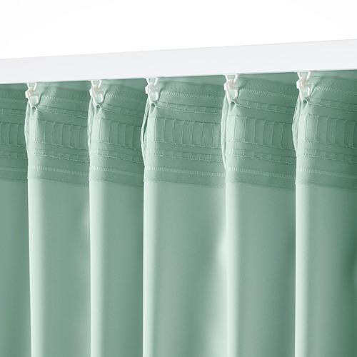 MAJGULL room darkening curtains, 1 pair