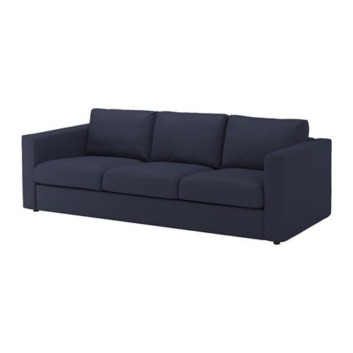 VIMLE trīsvietīga dīvāna pārvalks