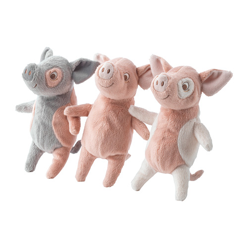 KELGRIS soft toy (for online purchases, the colour is chosen randomly)