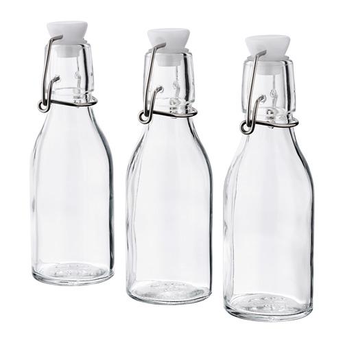 KORKEN bottle with stopper