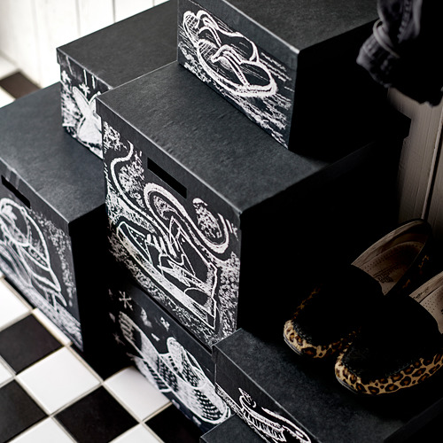 TJENA kaste ar vāku