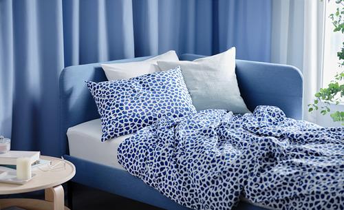 KVASTFIBBLA antklodės užv. ir 2 pagalv. užv.