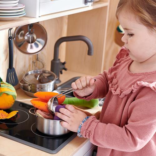DUKTIG 5-piece toy kitchen utensil set