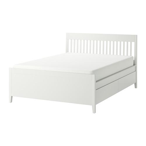IDANÄS каркас кровати с ящиками