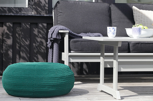 INNERSKÄR/OTTERÖN pouffe, in/outdoor