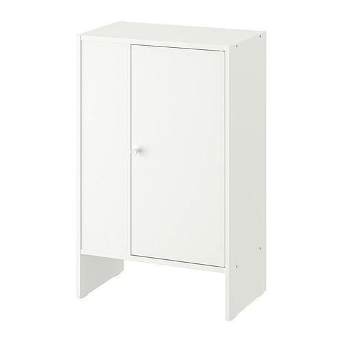 BAGGEBO, skapītis 50x30x80 cm baltā krāsā