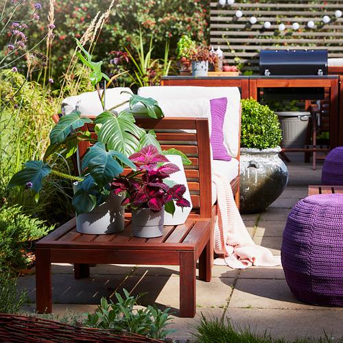 ÄPPLARÖ стол/табурет секция, садовый