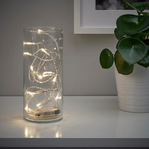 LEDFYR LED lighting chain with 12 lights