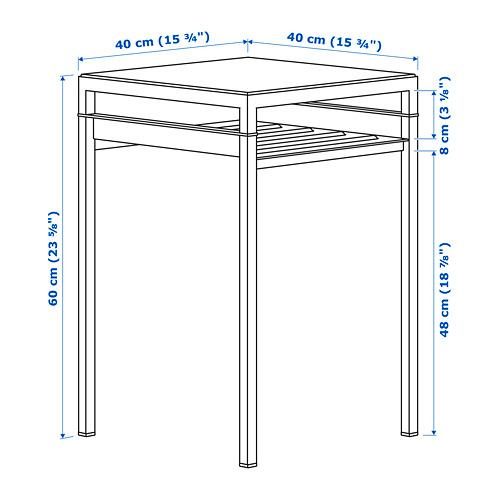 NYBODA столик с двусторонней столешницей