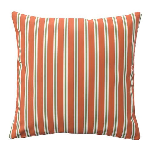 FUNKÖN, spilv. pārv. lietoš. telpās vai ārā 50x50 cm oranžā krāsā svītrains